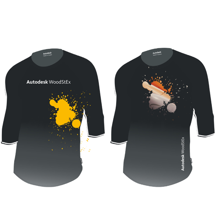 Autodesk WoodStEx T-Shirt